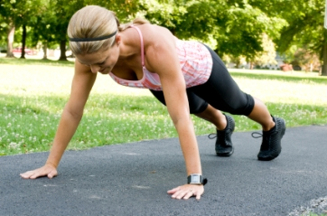 Push-ups Bootcamp Style