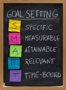smart goal setting concept, Huddle Bootcamp, Clear Lake, Texas